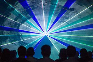 lasershow Raffinaderij