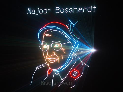 Majoor Bosshardt officier van het LDH en verzetsvrouw