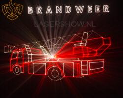 lasershow brandweer