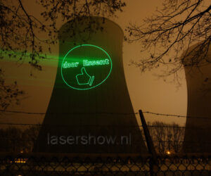 laserprojectie Essent