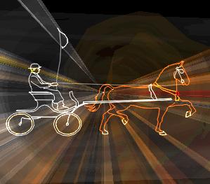 Lasershow paardendagen Stompwijk