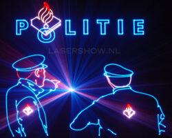 lasershow politie1
