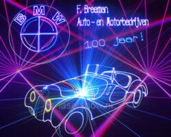 lasershow BMW
